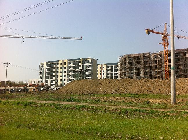 槐林镇滨湖花园安置点13#、15#楼工程